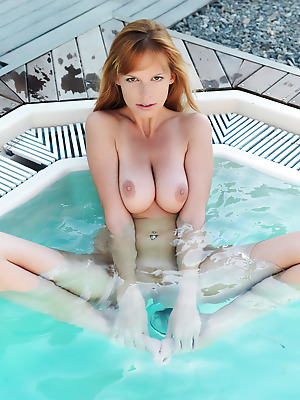 Errotica-Archives  Tubbea  Boobs, Breasts, Tits, Erotic, Softcore, Pool