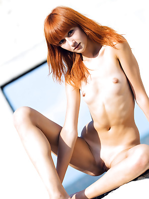 Amour Angels  Avgusta  Pussy, Red Heads, Boobs, Breasts, Tits, Small tits, Outdoor, Teens, Shaved, Skinny, Solo